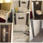 Amenagement salle de bain avec wc