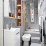 Aménagement salle de bain petite surface