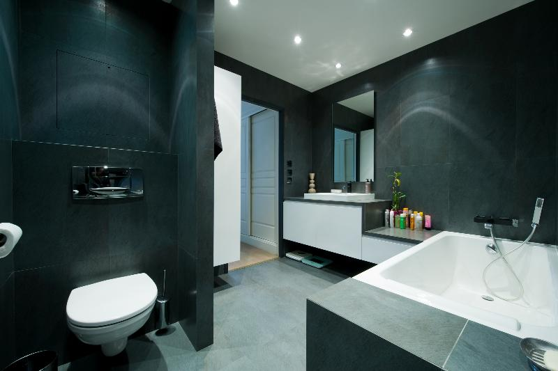 architecture salle de bain. Black Bedroom Furniture Sets. Home Design Ideas