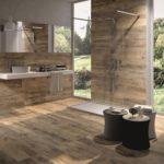 Carrelage salle de bain bois