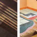 Carrelage sur plancher bois salle de bain