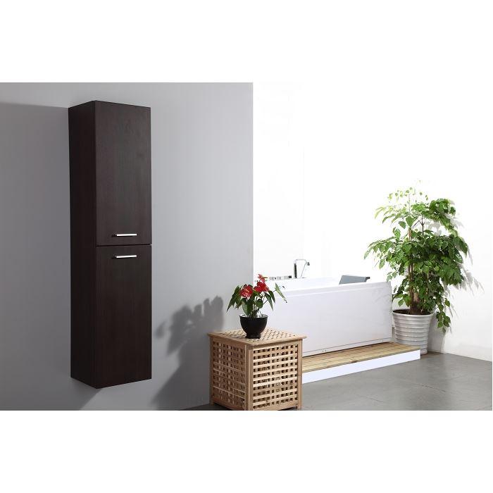 colonne salle de bain wenge