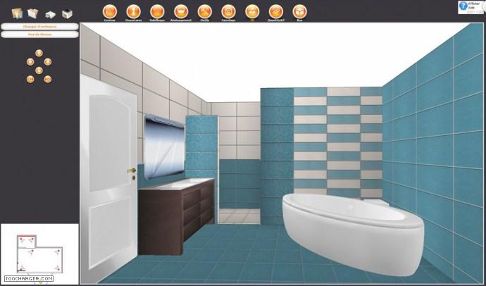 Concevoir sa salle de bain en 3d gratuit - Concevoir salle de bain ...
