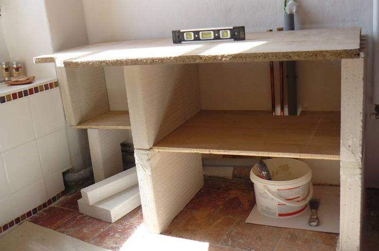 Construire un meuble de salle de bain for Construire une salle de bain