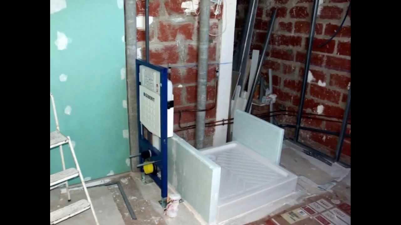 construire une salle de bain