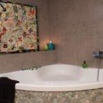 Enduit decoratif salle de bain