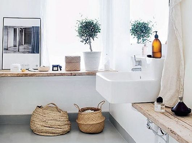 idées aménagement salle de bain
