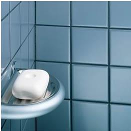 joint de salle de bain noir
