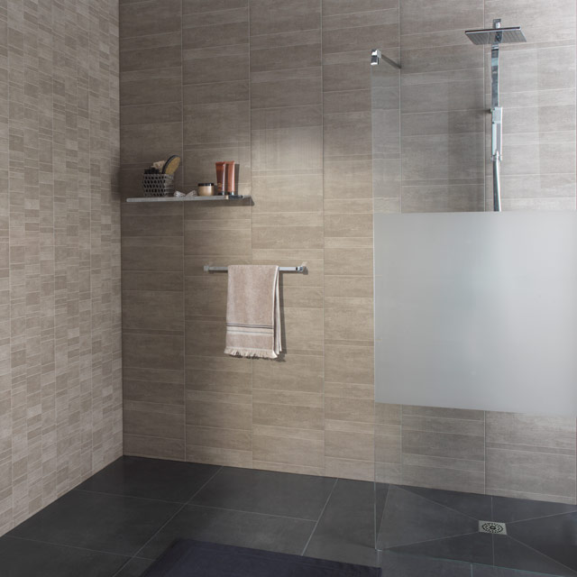 Lambris pvc salle de bain grosfillex - Pose lambris pvc douche ...
