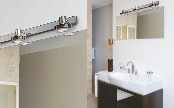 Lampe pour salle de bain for Lampe salle de bain
