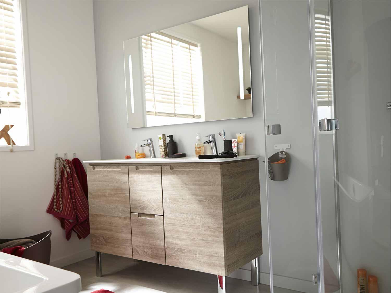 Accessoire salle de bain bois for Accessoire salle de bain bois