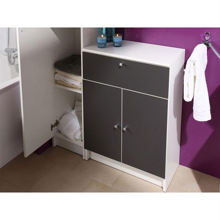 Meuble bas pour salle de bain maison design for Meuble pour salle de bain