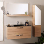 Meuble bois salle de bains