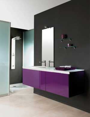 meuble de salle de bain design italien. Black Bedroom Furniture Sets. Home Design Ideas
