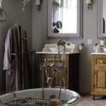 Meuble de salle de bain style retro