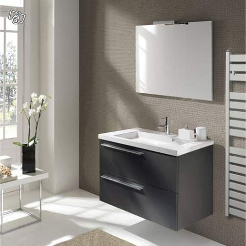meubles lavabo salle de bain leroy merlin id e inspirante pour la conception de. Black Bedroom Furniture Sets. Home Design Ideas