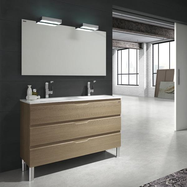 meuble salle de bain 2 vasques 120