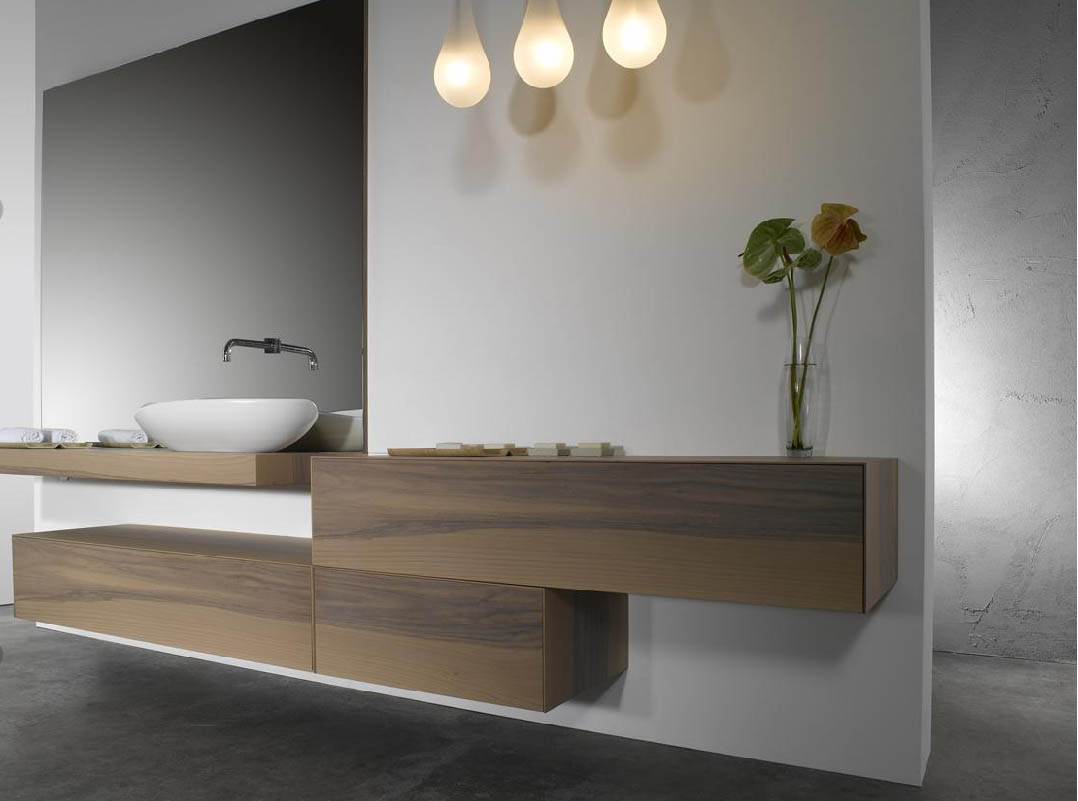 Meuble salle de bain pas cher for Meuble bambou salle de bain pas cher