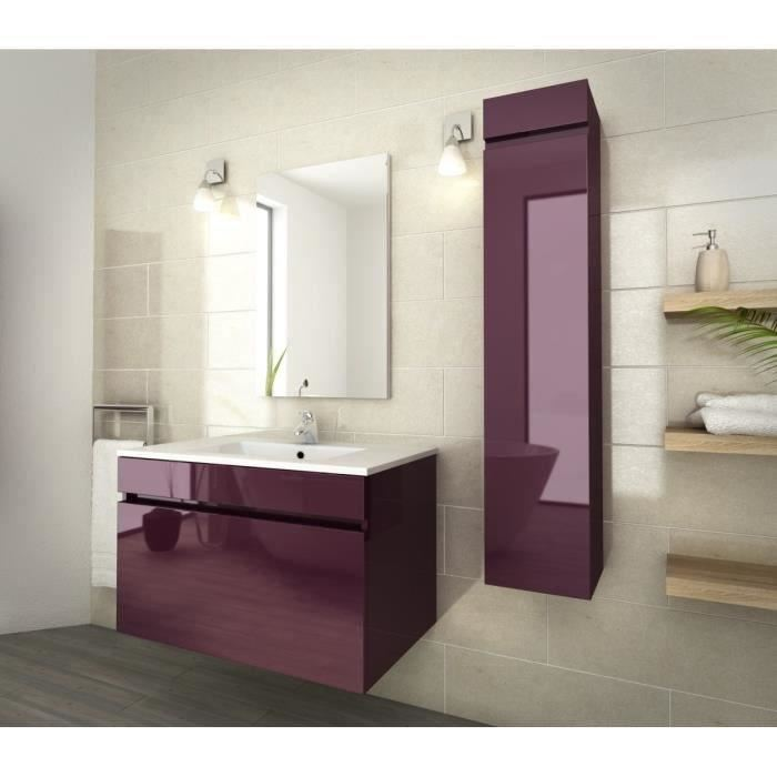 meuble salle de bain aubergine. Black Bedroom Furniture Sets. Home Design Ideas