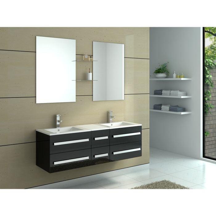 meuble salle de bain double