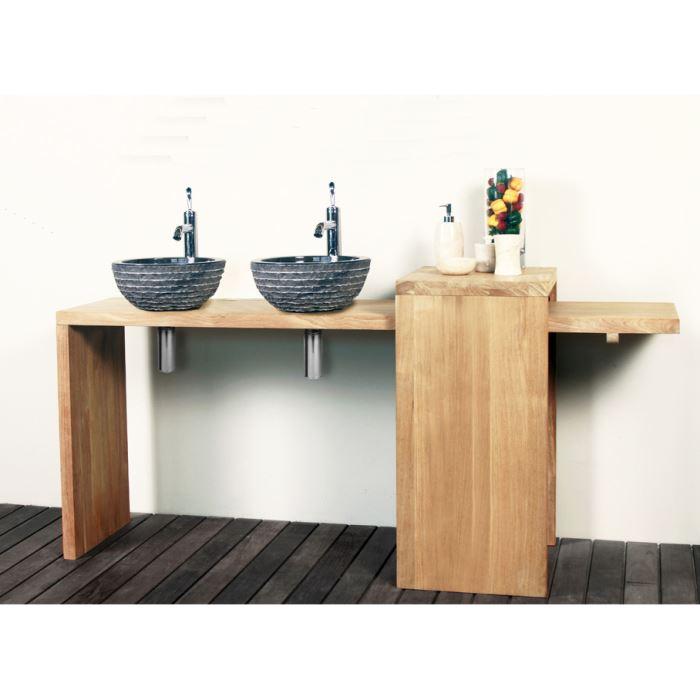 meuble salle de bain pour vasque a poser