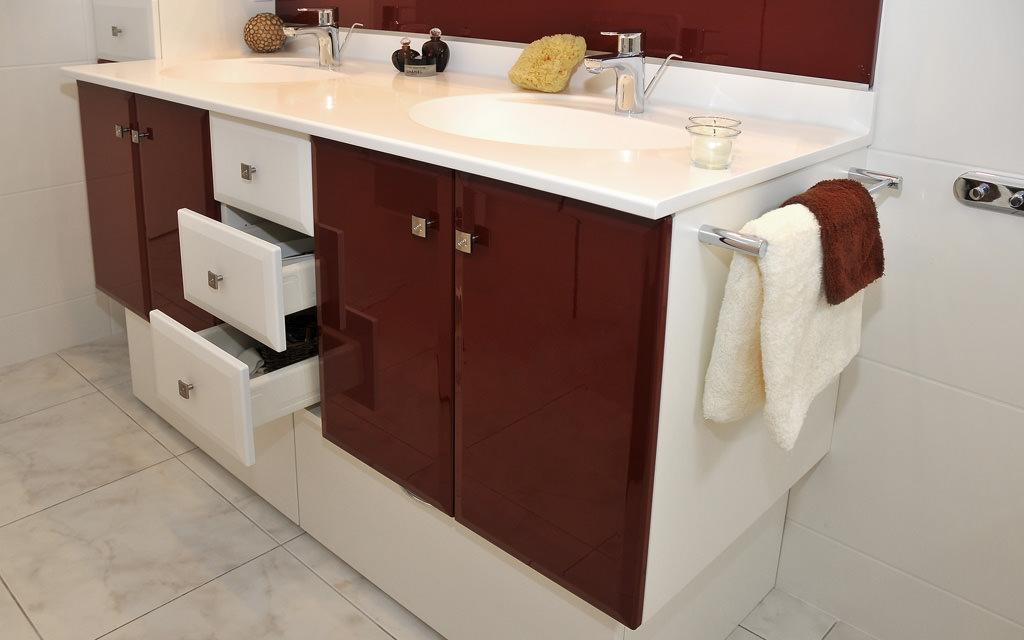 Meuble salle de bain sur mesure - Meuble de salle de bain sur mesure ...