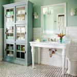 Meuble salle de bain vintage