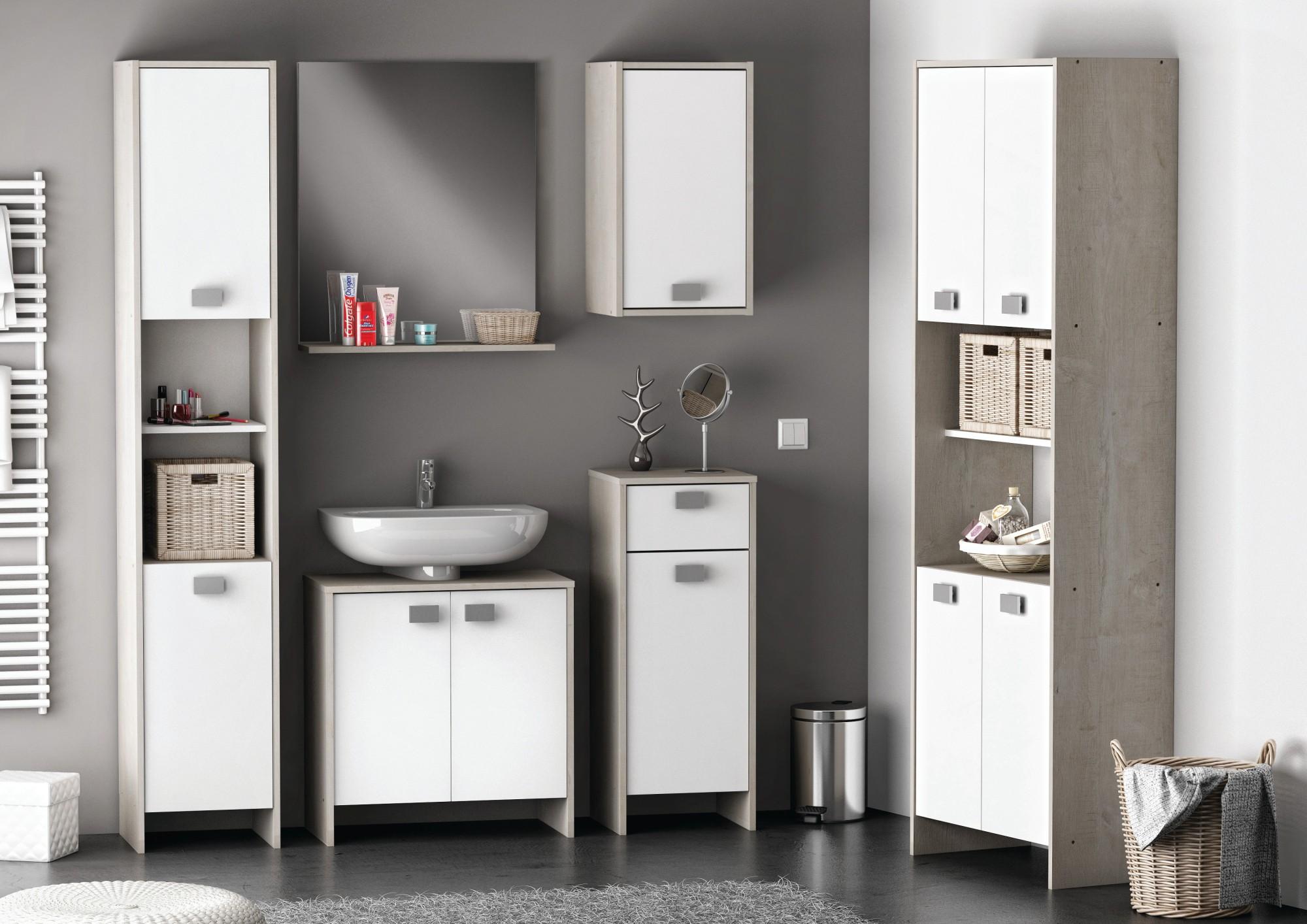 Meuble salle de bains but for Meuble bas bois salle de bain