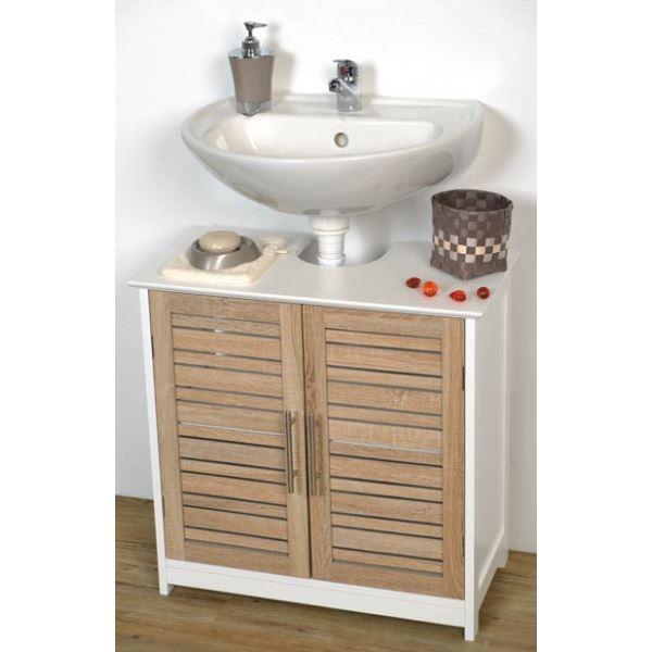 meuble sous evier salle de bain pas cher