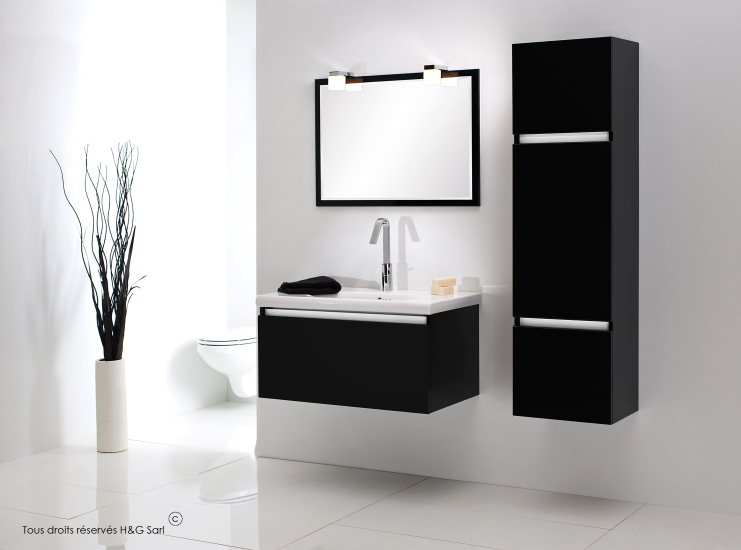 meubles salle de bain pas cher. Black Bedroom Furniture Sets. Home Design Ideas