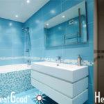 Miroir chauffant salle de bain