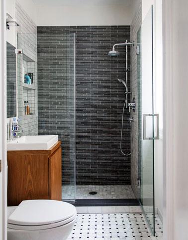 modele de petite salle de bain avec douche