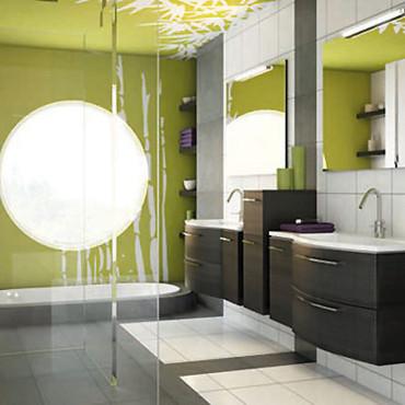 Mod les salle de bain - Modele de salle de bain leroy merlin ...