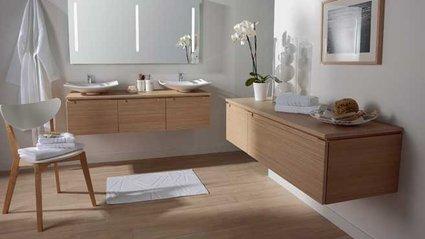 Peinture bois salle de bain for Peinture bois salle de bain