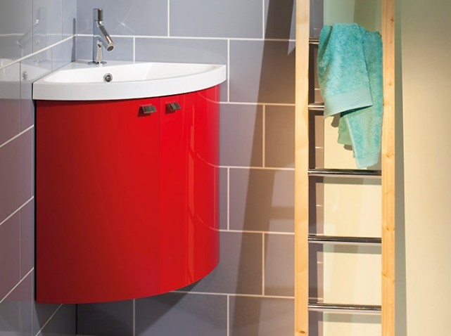 petit meuble d angle salle de bain. Black Bedroom Furniture Sets. Home Design Ideas