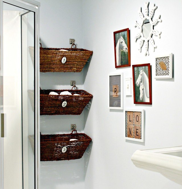 petit rangement salle de bain