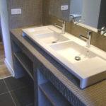 Plan double vasque salle de bain