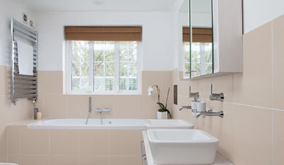 repeindre salle de bain carrelage. Black Bedroom Furniture Sets. Home Design Ideas