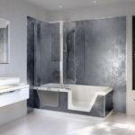 Revetement mural pour salle de bain