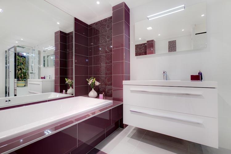 Rouchy salle de bain for Faience grise salle de bain
