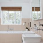 Salle de bain carrelage et peinture