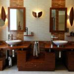 Salle de bain coloniale