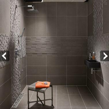 salle de bain douche a l italienne. Black Bedroom Furniture Sets. Home Design Ideas
