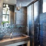 Salle de bain en mosaique