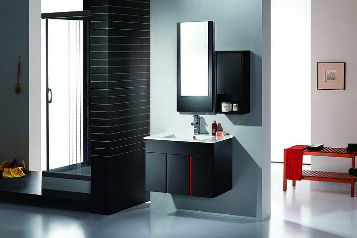 salle de bain moderne pas cher. Black Bedroom Furniture Sets. Home Design Ideas