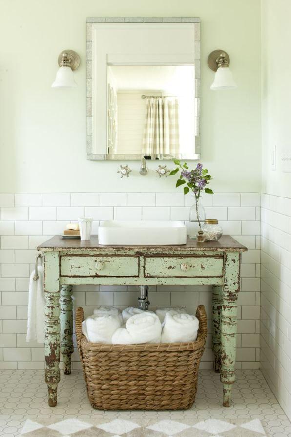 salle de bain originale et pas chère