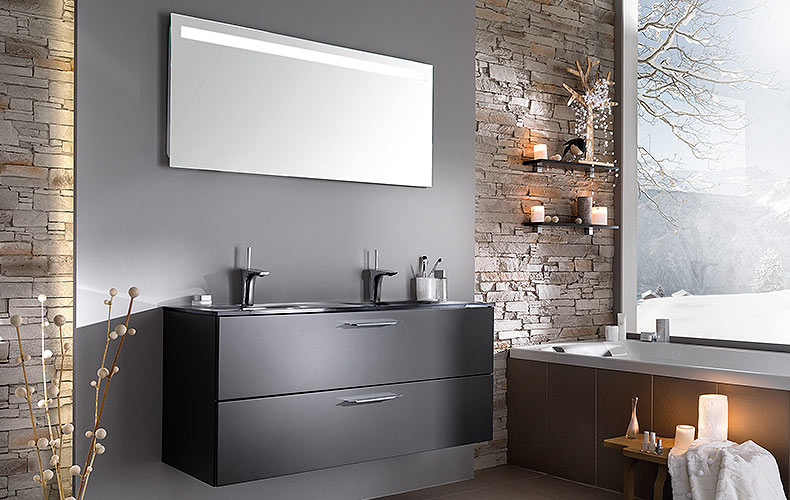 meuble salle bain bricoman meuble salle de bain noir laqu meubles with bricoman meuble salle de bain. Black Bedroom Furniture Sets. Home Design Ideas