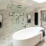 Salle de bains marbre