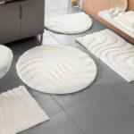 Tapis salle de bain design