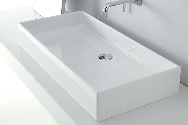 vasque de salle de bain à poser